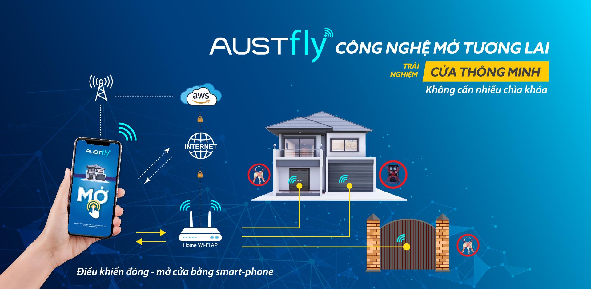 Austfly công nghệ mở tương lai
